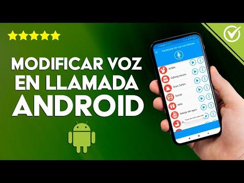 Cómo Cambiar o Modificar la voz y Llamar de Forma Anónima en Android