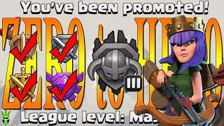Getting to Masters! - Zero to Hero! - TH9 Push to Legends League - Clash of Clans - Episode 4