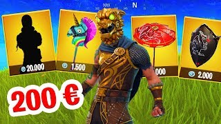 200 EURO SKIN in Fortnite!
