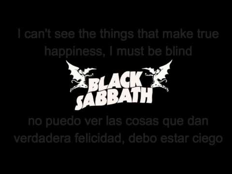 Black Sabbath - Paranoid (lyrics/sub español) HQ