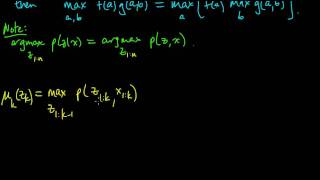 (ML 14.11) Viterbi algorithm (part 1)