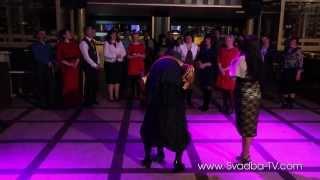 Баба Яга отжигает на Серебряной свадьбе. Жмеринка.