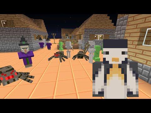 Minecraft Xbox - Stampy Flat Challenge - A Rough Night [Part 1]