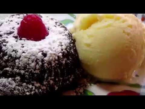 пирожное расплавленная лава рецепт