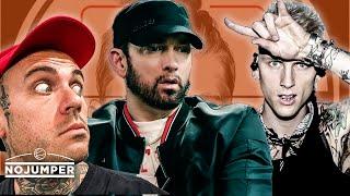 Eminem MUTILATED Machine Gun Kelly - Adam22 Reacts