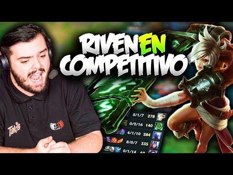 JUEGAN RIVEN en COMPETITIVO!! *SE FEDEA*   GIANTS vs G2V   SLO Resumen Español (LVP)