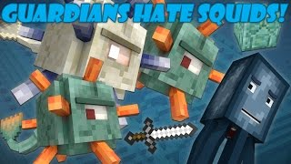 Why Guardians Hate Squids - Minecraft