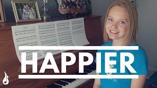 Happier - Marshmello ft. Bastille | Piano Cover