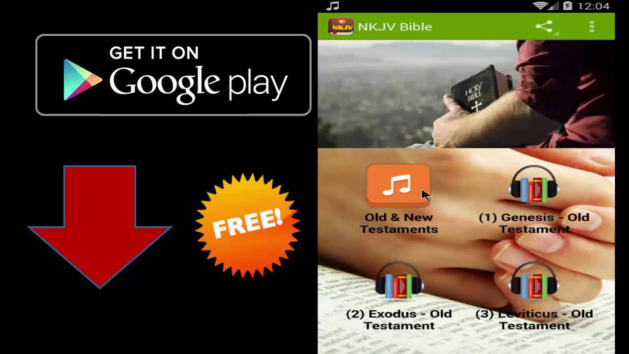 NKJV Audio Bible App - New King James Version