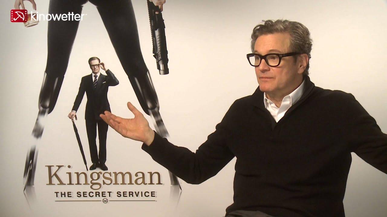 Kingsman The Secret Service Interview: Interview Colin Firth KINGSMAN: THE SECRET SERVICE