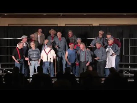 The Blue Chip Chorus of Bergen County -- here performing at the Annual Barbershop Harmony Society Competition, in 2014 -- is offering free singing classes to local men.