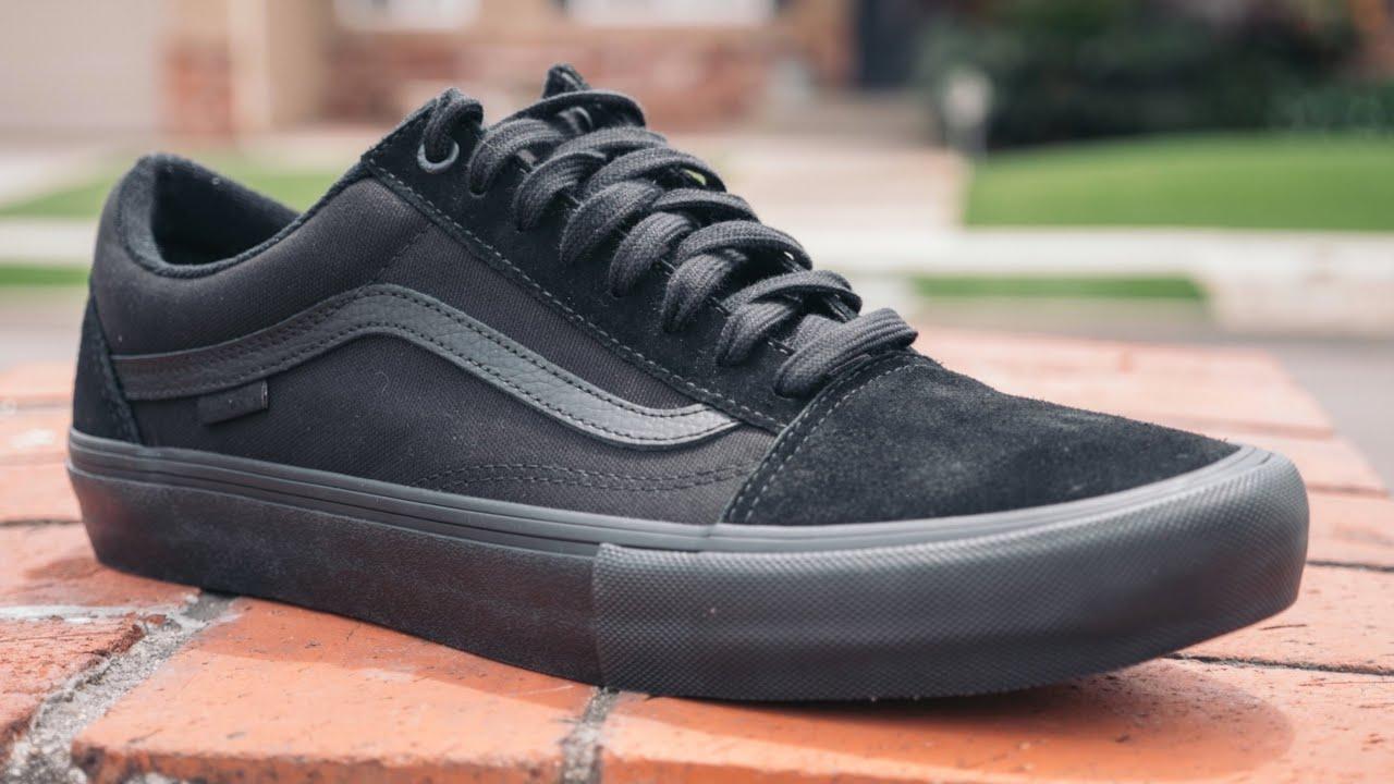 Vans Old Skool Pro (Blackout) Review