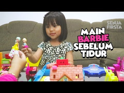 REUPLOAD - Dede Senja Main Mainan Barbie Dulu Sebelum Tidur