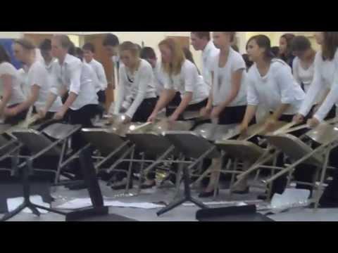 Grangeville Elementary MIddle School 6th grade band percussion demo