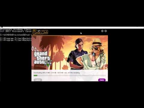 GTA V DOOMSDAY update FIX  errors ( Failed to Download ,216 , 217 ) For Social Club