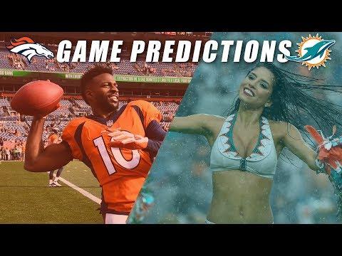 Denver Broncos vs Miami Dolphins Predictions