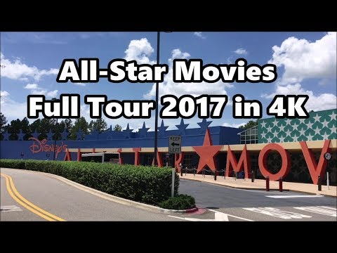 Disney's All-Star Movies Resort | Full Tour 2017 | 4K UHD | Walt Disney World