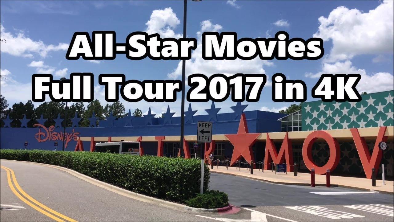 Disney S All Star Movies Resort Full Tour 2017 4k Uhd Walt