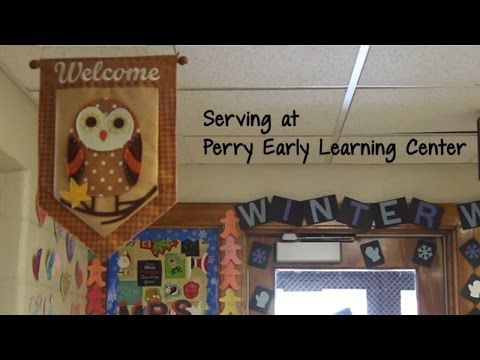 Serving at Perry Early Learning Center