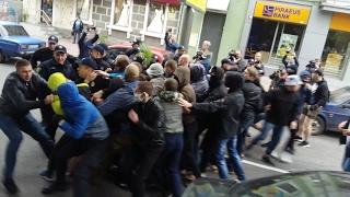 Столкновения во время акции за права ЛГБТ (Харьков, 17.05.17)