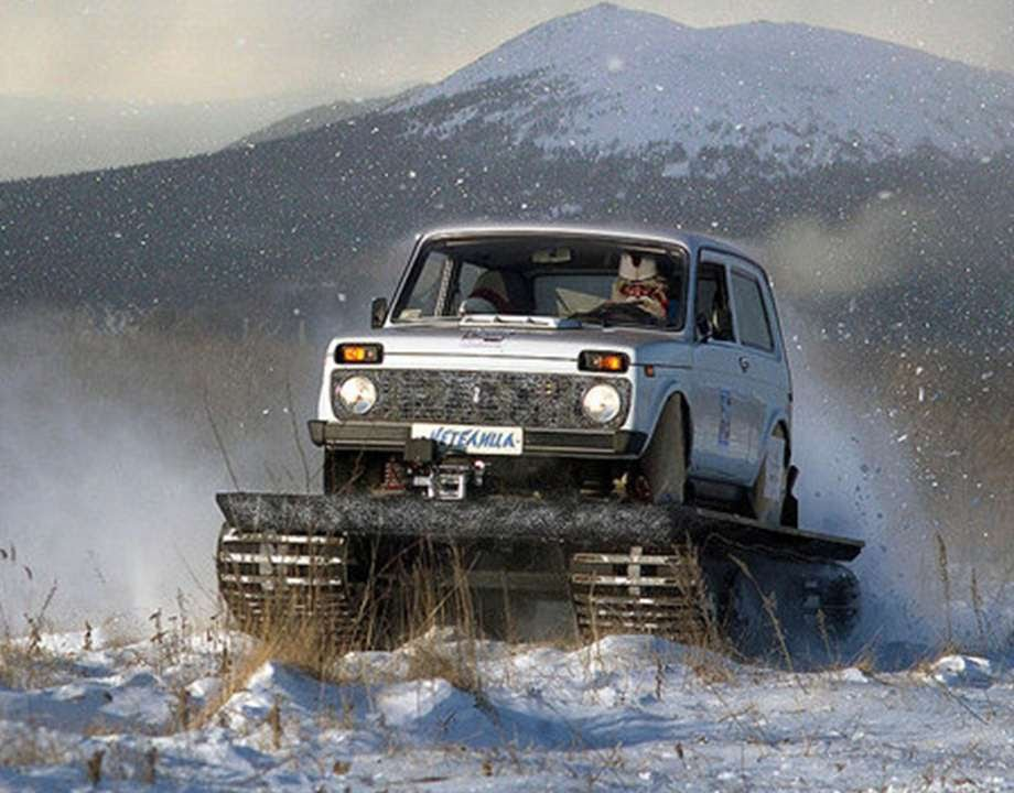 235 lada 4x4 niva in snow russian auto tuning youtube. Black Bedroom Furniture Sets. Home Design Ideas