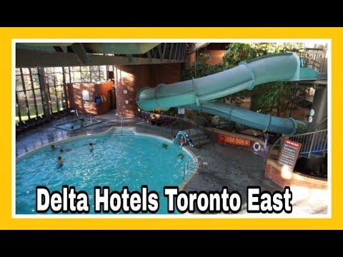 Delta Hotels Toronto East Scarborough Canada Travel Vlog Youtube