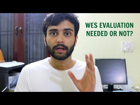 WES Evaluation Needed Or Not? | MS In The US