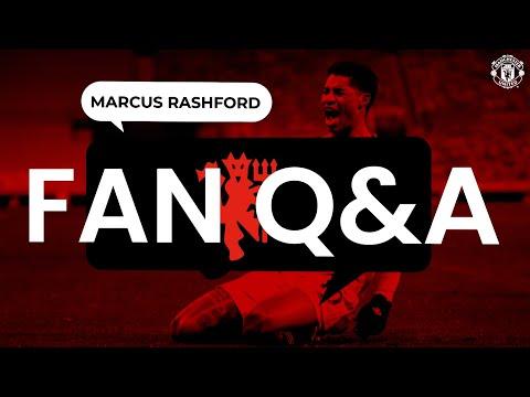 Marcus Rashford menjawab pertanyaan Anda!  |  Tanya Jawab Penggemar |  Manchester United