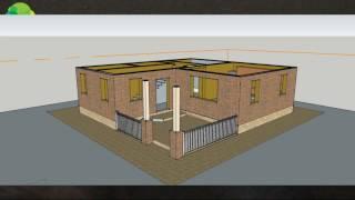 Как сделать проект дома. Проект двухэтажного дома (серия 1)(, 2015-09-27T19:11:08.000Z)