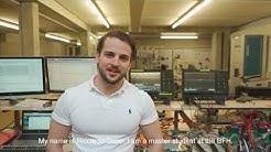 Arbeiten und studieren im Fachbereich Elektrotechnik und Informationstechnologie