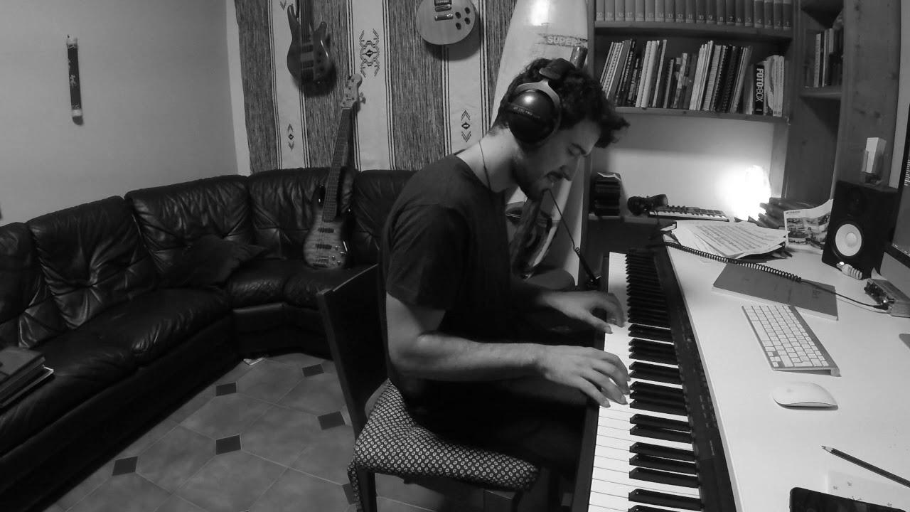 búnker pellizco trapo  Jordan Rakei - Blackbird (Keyboard cover) - YouTube