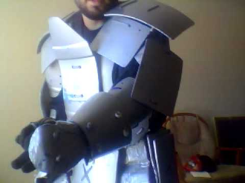 Home Made Knight Armor Youtube