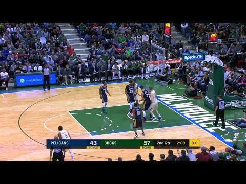 2nd Quarter, One Box Video: Milwaukee Bucks vs. New Orleans Pelicans