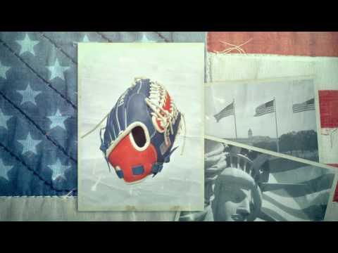 Baseball | Softball | Glove - American Flag