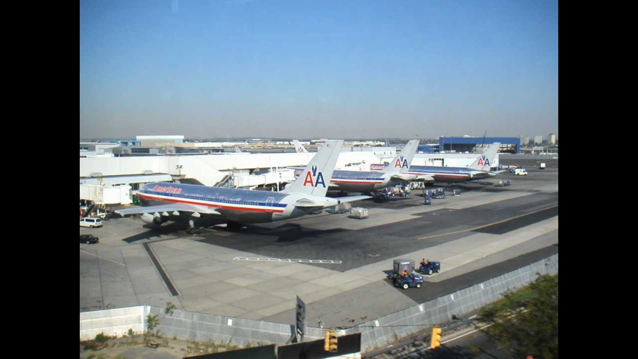 American Airlines Rare Photos Of Jfk S Terminal 8 And 9 In