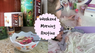 WEEKEND MORNING ROUTINE