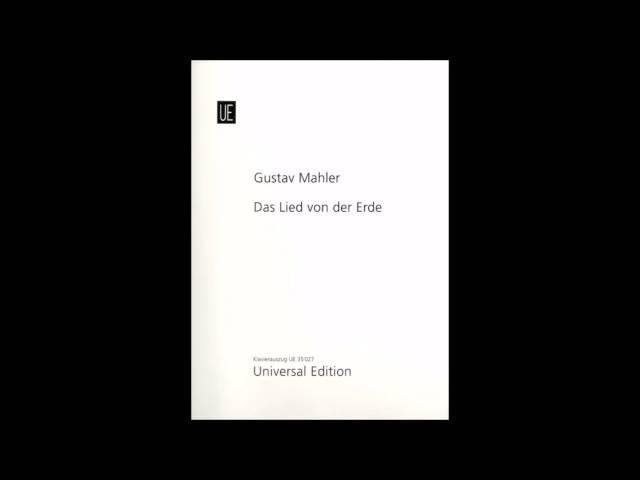 Mark Omvlee - Das Lied von der Erde - Deel 3 - Mahler
