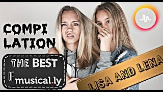 Lisa and Lena Twins❤️The Best Musical.ly Compilation❤️ JULY👯 |The Best of Musical.ly❤️