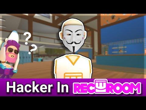 I Found A Recroom Hacker!