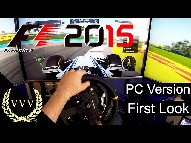 F1 2015 PC Version - First Look