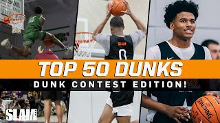 BEST Dunk Contest Dunks of All Time! 🔥 SLAM Top 50 Friday