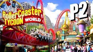 RollerCoaster Tycoon World《過山車大亨:世界》Part 2 - 幸運抽獎!