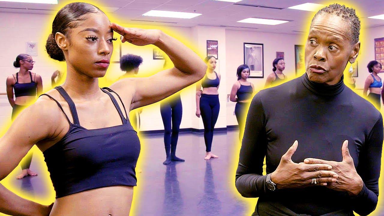Toughest dance coach leads auditions