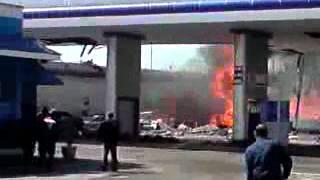 Эксклюзивное видео. Взрыв в Ташкенте.