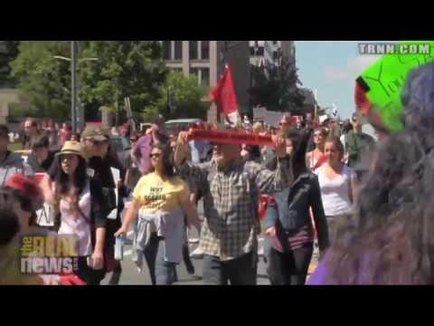 "DC Protest Denounces ""Monsanto Protection Act"""