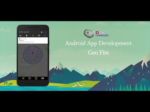 Android Studio Tutorial - Geo Fencing with GeoFire