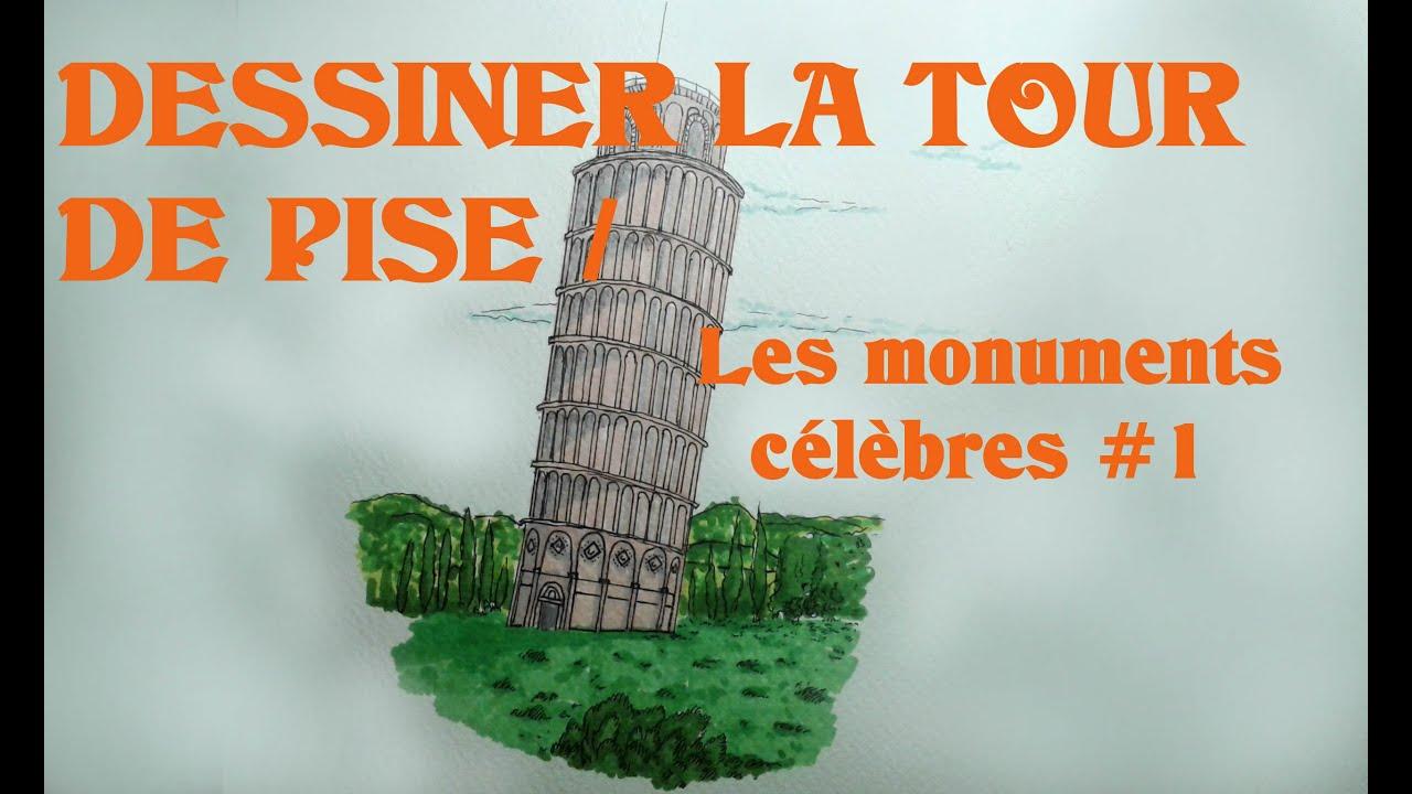 Dessiner la tour de pise les monuments c l bres 1 youtube - Tour de pise se redresse ...