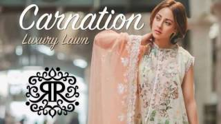 Rang Rasiya Eid Collection 2017-18 Carnation Luxury Lawn Vol 2