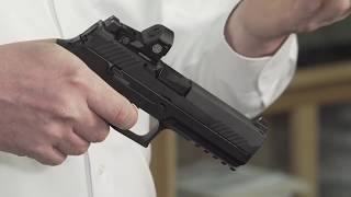 SIG Sauer P320 RX Unboxed at the Gun Counter