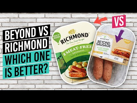 Are Beyond Sausages Worth The Money? How Do They Compare To Richmond Vegan Bangers?